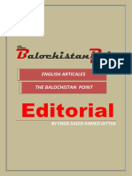 Engr Saeed Jattak Articles