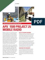 APX 1500 NA Datasheet