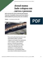 EUA _ Ponte Pedonal Numa Universidade Colapsa Em Cima de Carros e Pessoas _ PÚBLICO