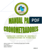 Manual Cronometradores