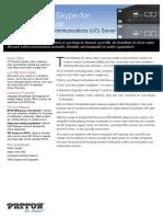 Lync Server-SfB Server Datasheet