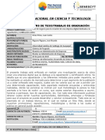 Ficha Senescyt Posgrado