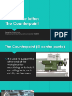 Parts of the Lathe
