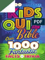 NIV Kids' Quiz Bible sampler