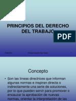 1.- Principios Del Derecho Laboral