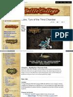 Battlecollege - Elara, Tyro of the Third Chamber - Retribution Character Solo