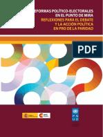 LAS REFORMAS POLÍTICO-ELECTORALES EN EL PUNTO DE MIRA. Reflexiones para el debate y la acción política en pro de laparidad