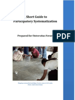 A Short Guide to Participatory Systematization