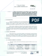 FDA Circular No. 2018-002