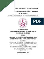 1° MONOGRAFIA DE ANÁLISIS DE SISTEMAS MINEROS