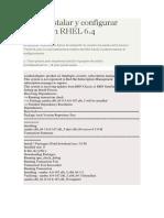 Como Instalar y Configurar Samba en RHEL