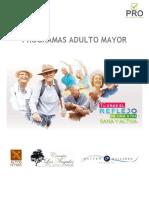 Programas Adulto Mayor