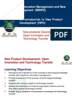 Lecture 10- Open Innovation and Technology Transfer.pptx