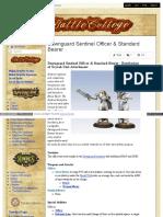 Battlecollege - Dawnguard Sentinel Officer _ Standard Bearer - Retribution of Scyrah Unit Attachment 1