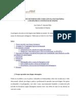 Ensino de português como língua não materna