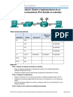 8.1.4.8 Lab - Designing and Implementing a Subnetted IPv4 Addressing Scheme.docx