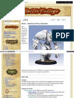 Battlecollege - Hydra – Retribution Heavy Myrmidon