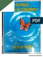 Livro - A Respiração e a 1º Lei Da Termodinâmica