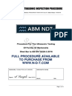 NDT Procedure BS 10228-4:2016 (Full version available from n-d-t.com)