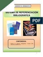 sistemas referencias bibliogrficas