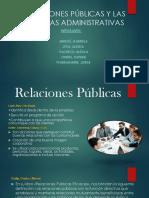 Relaciones Públicas y Las Ciencias Administrativas