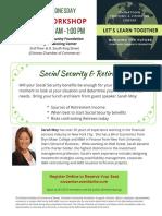 4-4-18 Social Security Sarah Moy