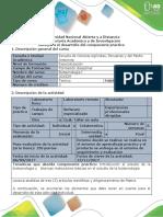 Guía de Actividades y Rubrica de Evaluación - Paso 3 - Realizar Una Matriz de Trabajo Práctico Sobre Artículos Científicos