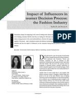 Impacto De Influencers En La decisiónde compra