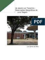 Uma Jornada Geográfica do Rio de Janeiro ao Tocantins