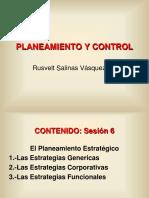 Planeamiento y Control