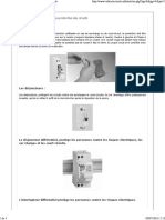 - Réaliser Une Installation - La Protection Des Circuits