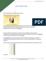 RESUMEN - Ante El Vaco Existencial de Viktor Frankl