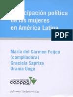 Participacion politica de las mujeres en america latina