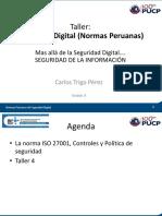 Taller 4 Carlos Trigo - Seguridad Digital (Normas Peruanas) (A202 08.08.2017 900-1800) Parte 4