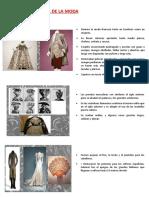 Historia de La Moda