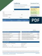 ALS Training Academy Enrolment Form