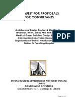 RFP for Consultant (SKT Hospital)_28!7!16