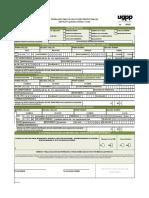 GP-For-001 Formulario Único de Solicitudes Prestacionales 040414 (2)