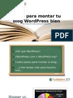 Cómo Montar Tu Blog WordPress Bien - Berto Lopez