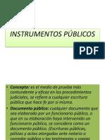 Instrumentos Publicos Power Point.