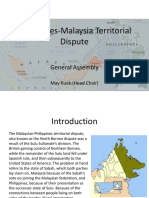 Philippines-Malaysia Territorial Dispute