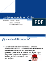 La Delincuencia en Chile