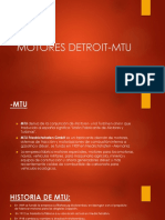 Motores Detroit Mtu