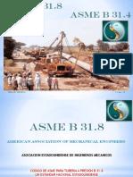 Asme b31 8 y Asme b31 4