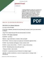 Melgar Castellón, José Adalberto - Influencias en Sigmund Freud