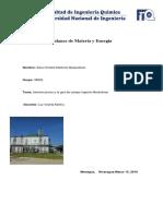 Balance de Materia y Energia Informe