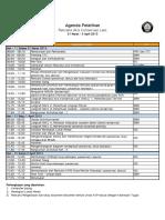 Agenda Pelatihan MCAP UNDIP 2015 Gel2
