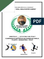 Bases Generales Olimpiadas de Padres de Familia 1