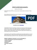 0878 7896 9087, Jasa Renovasi Rumah Jakarta