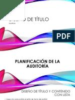 Presentacion Planificacion de Auditoria